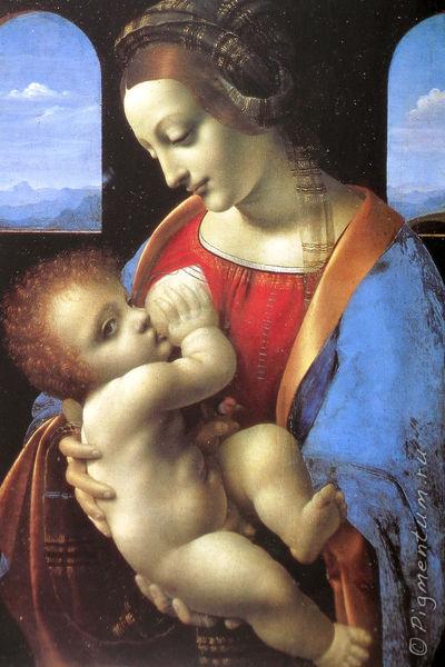 Леонардо да винчи мадонна литта