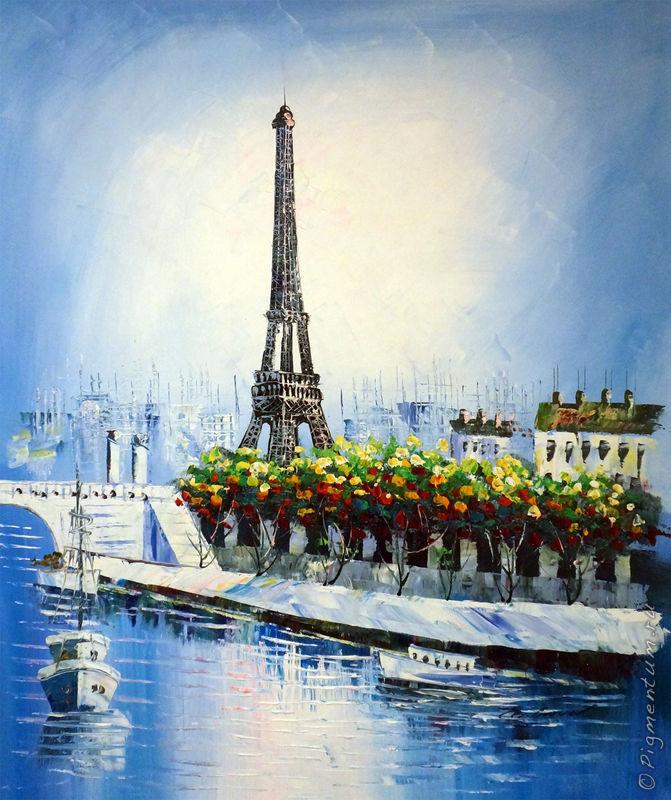 Париж, я люблю тебя