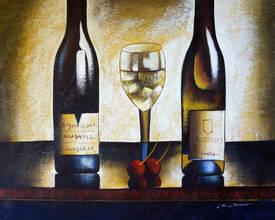 Вино и вишни